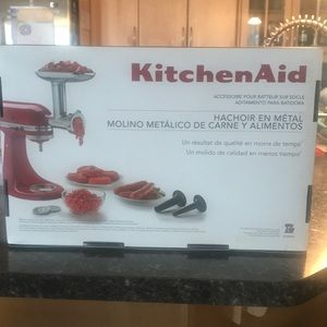 Other - Kitchen aid accessory meat grinder